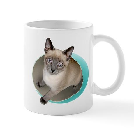 Kitten Blue Egg Mug