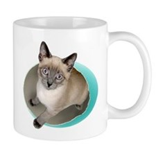 Kitten Blue Egg Mug