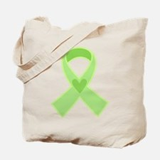 Green Ribbon Celiac Disease Tote Bag