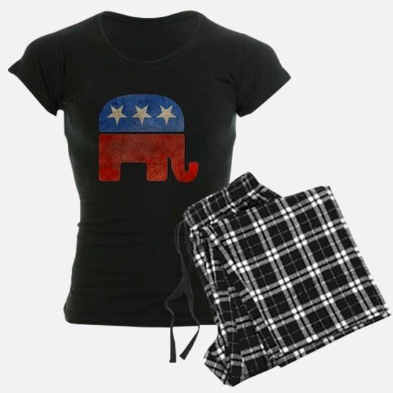 Republican Logo -Faded Pajamas