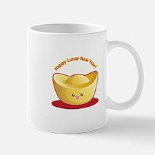 Gold Ingot Mug