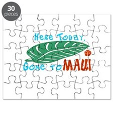 Here Today Gone to Maui Puzzle