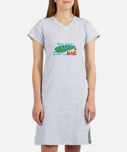 Here Today Gone to Maui Women's Nightshirt