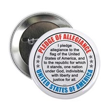 "Pledge of Allegiance 2.25"" Button"