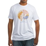 Tarrant's Goldilocks  Fitted T-Shirt
