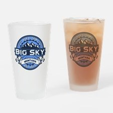 Big Sky Blue Drinking Glass