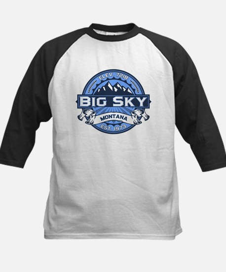 Big Sky Blue Kids Baseball Jersey