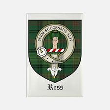 Ross Clan Crest Tartan Rectangle Magnet (10 pack)