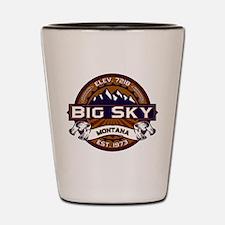 Big Sky Vibrant Shot Glass