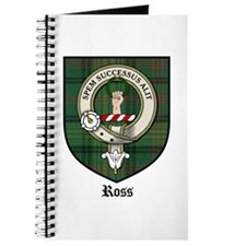 Ross Clan Crest Tartan Journal