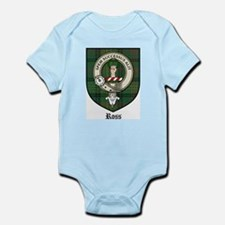 Ross Clan Crest Tartan Infant Creeper