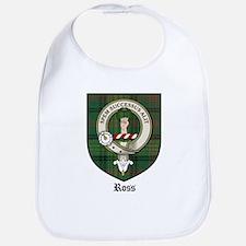 Ross Clan Crest Tartan Bib