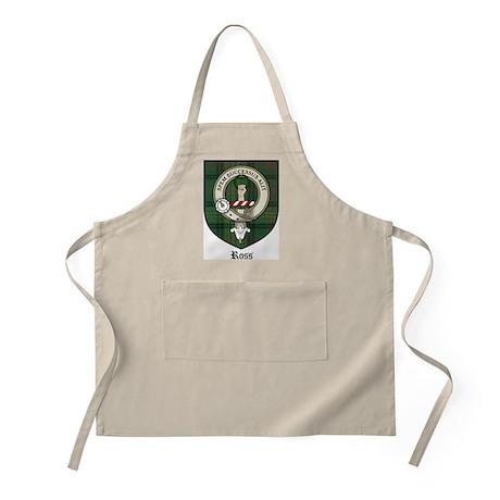 Ross Clan Crest Tartan BBQ Apron