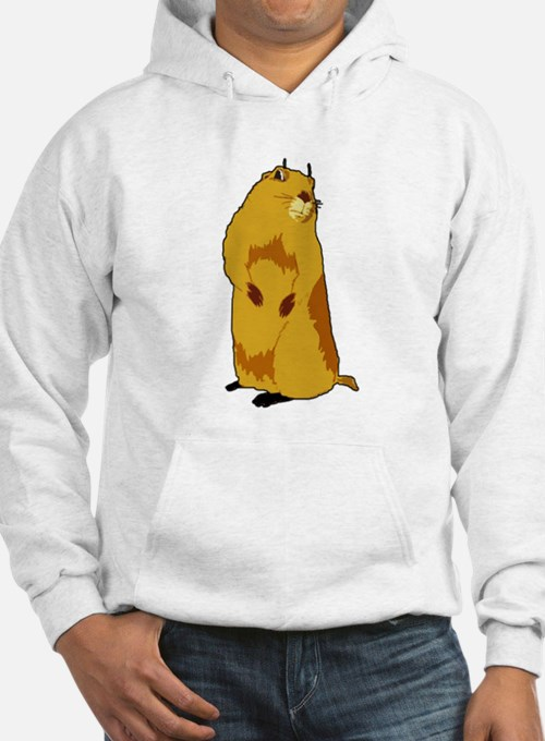 dramatic look gopher Hoodie