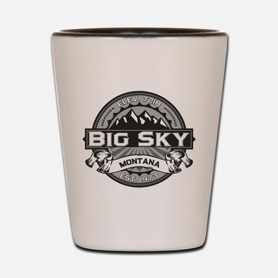 Big Sky Grey Shot Glass
