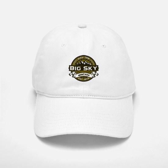 Big Sky Olive Baseball Baseball Cap