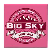 Big Sky Honeysuckle Tile Coaster
