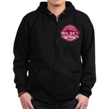 Big Sky Honeysuckle Zip Hoodie