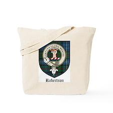 Robertson Clan Crest Tartan Tote Bag