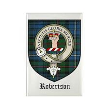 Robertson Clan Crest Tartan Rectangle Magnet (10 p