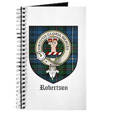 Robertson Clan Crest Tartan Journal