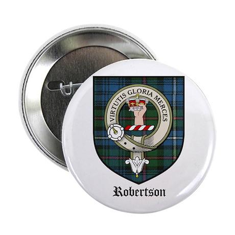 "Robertson Clan Crest Tartan 2.25"" Button (10 pack)"