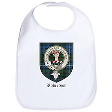 Robertson Clan Crest Tartan Bib