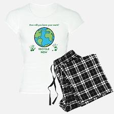 Recycle Now pajamas