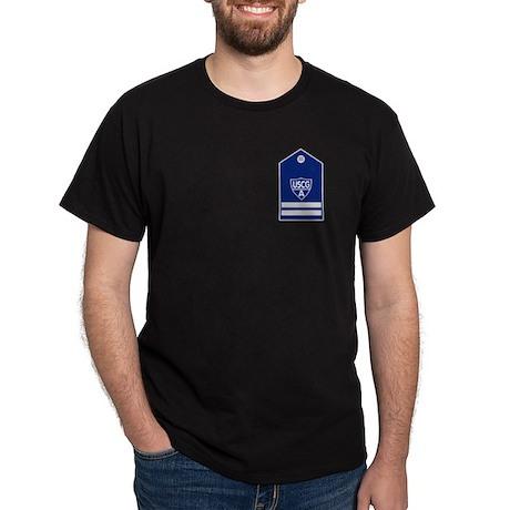 USCGA Flotilla Commander<BR> Black T-Shirt