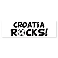 Croatia Rocks! Bumper Bumper Sticker