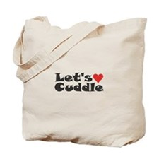 Let's Cuddle Tote Bag