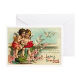Vintage valentine Greeting Cards