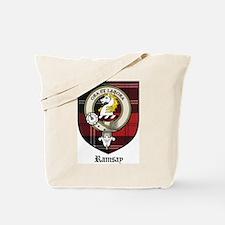 Ramsay Clan Crest Tartan Tote Bag