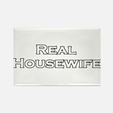 Real Housewife Rectangle Magnet