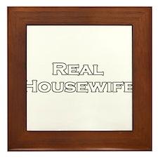 Real Housewife Framed Tile