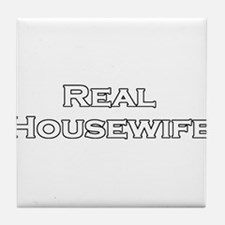 Real Housewife Tile Coaster