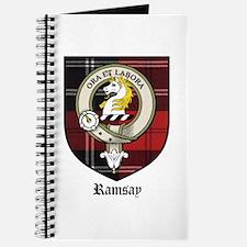 Ramsay Clan Crest Tartan Journal
