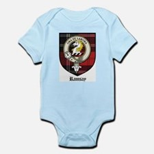 Ramsay Clan Crest Tartan Infant Creeper