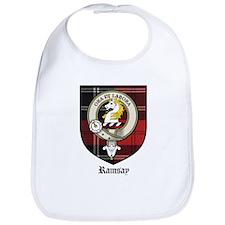 Ramsay Clan Crest Tartan Bib