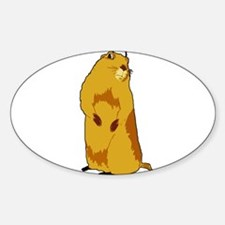 dramatic look gopher Decal