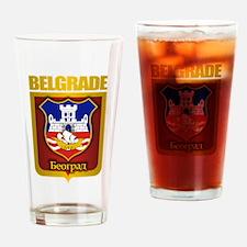 """Belgrade Gold"" Drinking Glass"