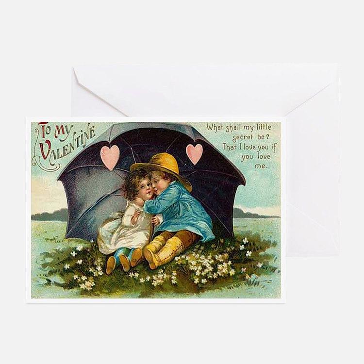 My Valentine 10 Greeting Cards