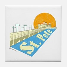 St. Pete Local Tile Coaster