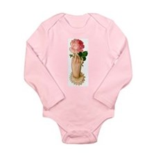 Victorian Hand Long Sleeve Infant Bodysuit