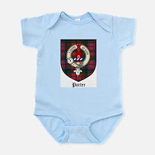 Porter Clan Crest Tartan Infant Creeper