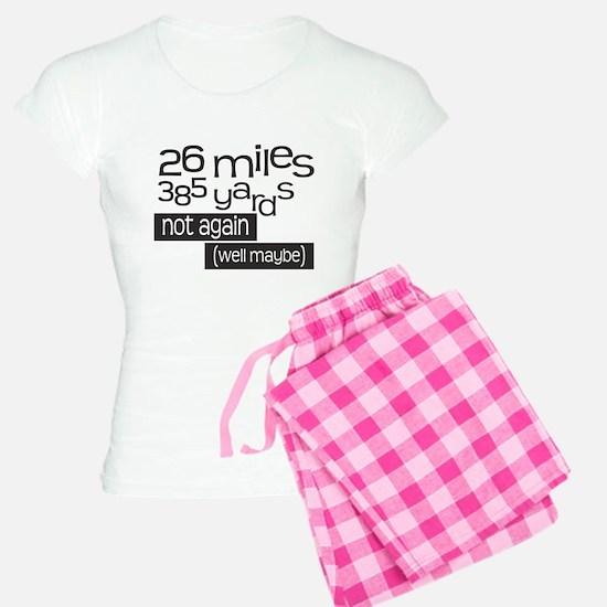Funny 26.2 Marathon pajamas