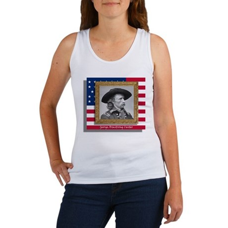 George Armstrong Custer Women's Tank Top