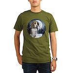 Beagle Organic Men's T-Shirt (dark)