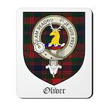 Oliver CLan Crest Tartan Mousepad