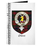 Oliver CLan Crest Tartan Journal
